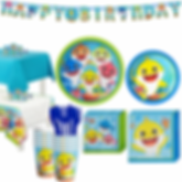 Baby Shark Birthday Decorations