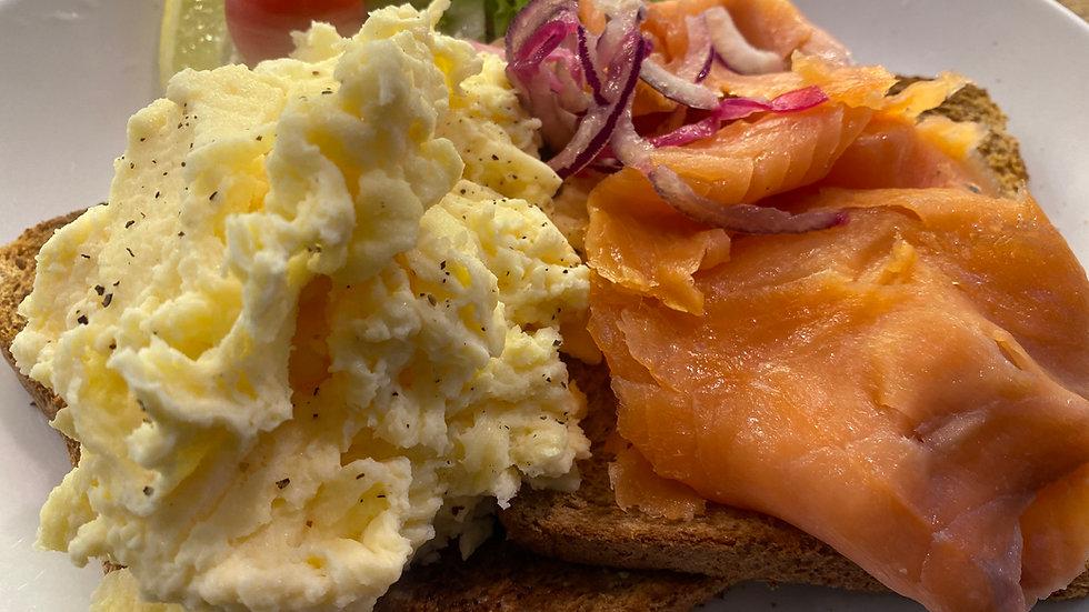 Scottish Smoked Salmon & Scrambled Eggs