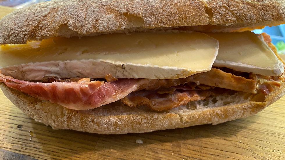 French Brie & Crispy Bacon Ciabatta