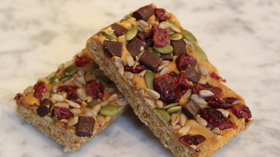 Exotic Granola Cereal Bar
