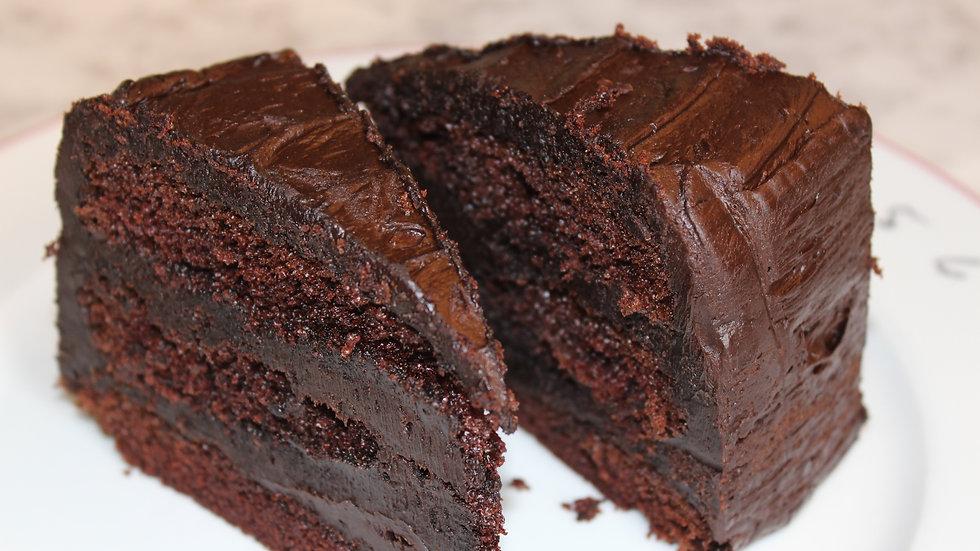 Chocolate Fudge Cake- Gluten Free