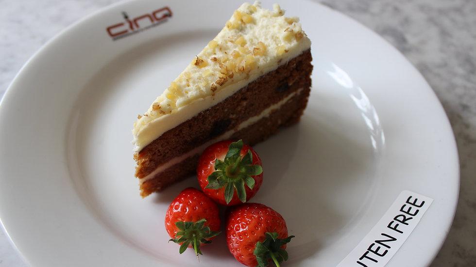 Carrot & Walnut--Gluten Free Cake