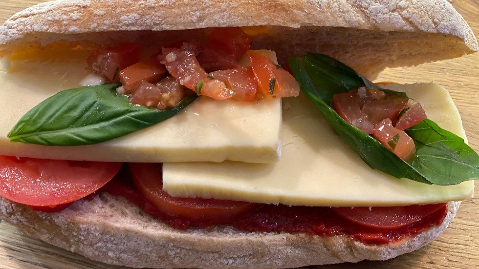 Tomato, Mozzarella & Basil Ciabatta
