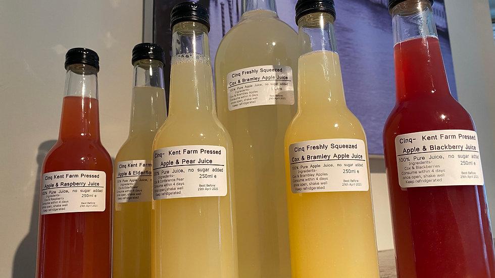Kent Farmed Fresh Pressed Juices