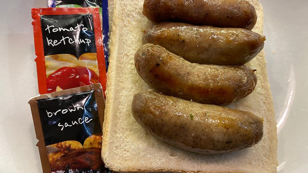 Cinq Sausage Sandwich