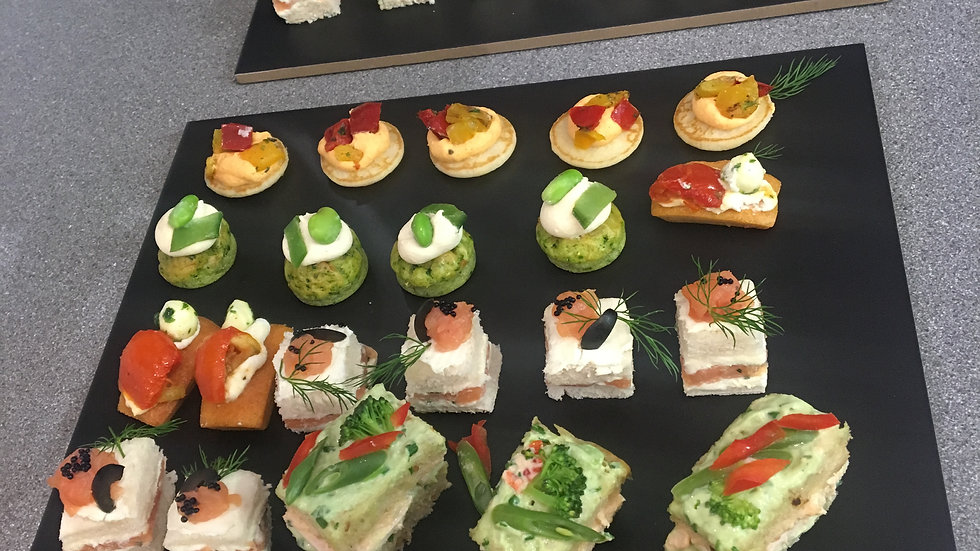 Canapes platter from 99p