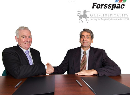 Forsspac partners with GCI-Hospitality, providing unique and solutions to the hospitality industry