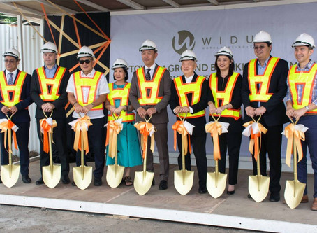 Forsspac takes part as coordinating MEPF Designer at Widus Hotel Tower Four ground-breaking ceremony