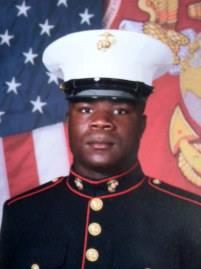 LCpl Abraham Tarwoe, US Marine Corps, KI
