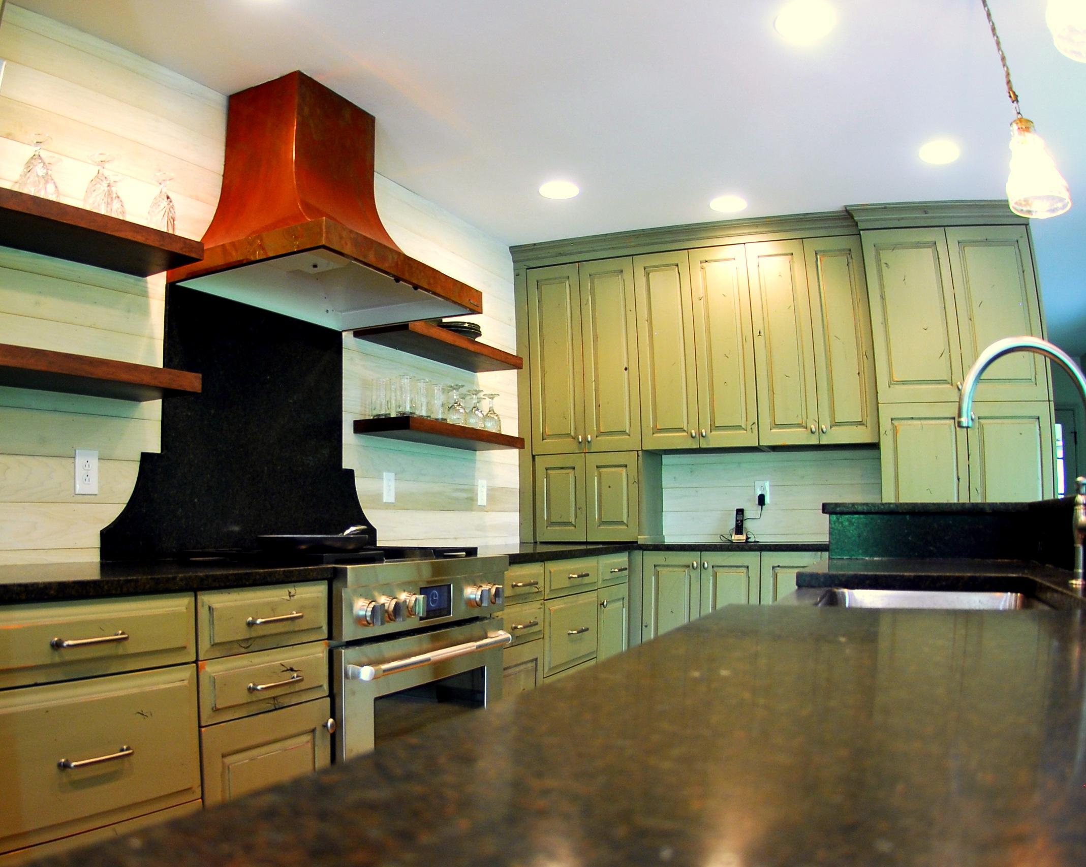 Smyer Lake Rustic Kitchen