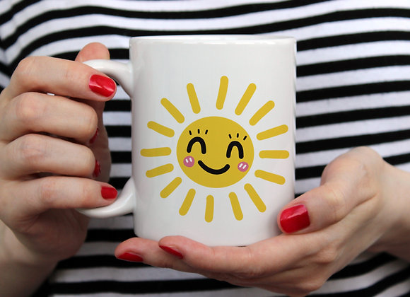 Hello Sunshine / Pastel / 11oz Mug