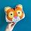 Thumbnail: Tiger Plush Scatter Cushion