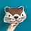 Thumbnail: Otter Plush Scatter Cushion
