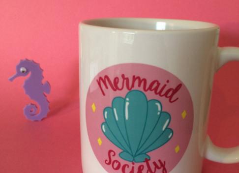 Mermaid Society 11oz Mug