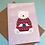 Thumbnail: Polar Bear Cosy Christmas Jumper Christmas Card