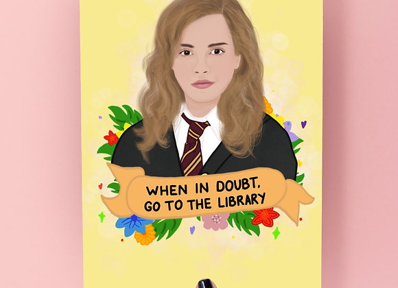 Hermoine Quote Print A4/A5