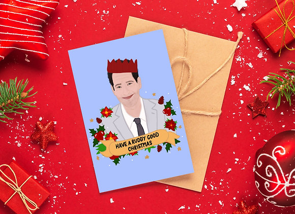 Ruddy Good Christmas - Paul Rudd Christmas Card