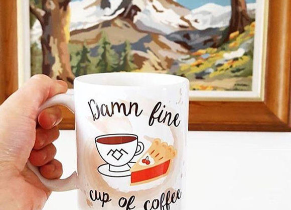 Damn Fine Cup of Coffee 11oz Mug
