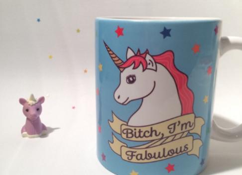 Bitch I'm Fabulous Unicorn 11oz Mug