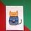 Thumbnail: Fairisle Sweater Cat Christmas Card