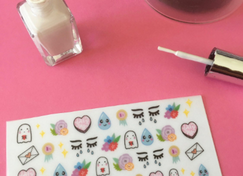 Crybaby Nail Decals - pack 40