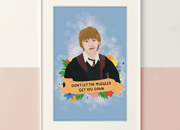 Ron Quote Print A4/A5