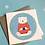 Thumbnail: Winter Polar Bear Christmas Card