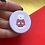 Thumbnail: Cosy Polar Bear Christmas Jumper Button Pin Badge - 38mm