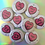 Thumbnail: Hot Mess - Sassy Heart 38mm Button Badge