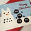 Thumbnail: Snow Totoro and Soot Sprites Christmas Card