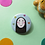 Thumbnail: No Face Ghibli Pin Badge 38mm