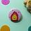 Thumbnail: Calcifer Ghibli Pin Badge 38mm