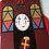 Thumbnail: No Face Spirited Away Christmas Card