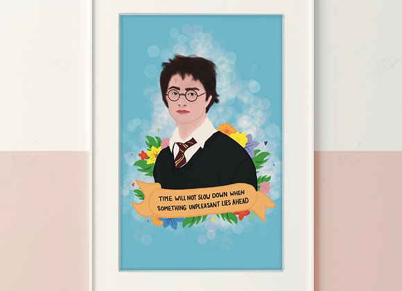 Harry Quote Print A4/A5