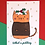 Thumbnail: What A Pudding Cat Christmas Card
