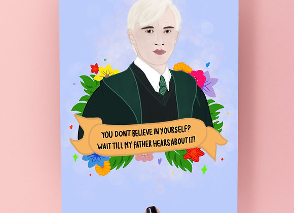Draco Quote Print A4/A5