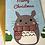 Thumbnail: Cute Totoro Merry Christmas Card