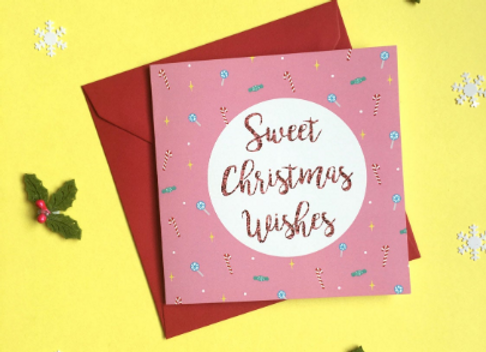Sweet Christmas Wishes Card