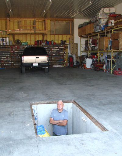 Don Moran and the RV repair pit