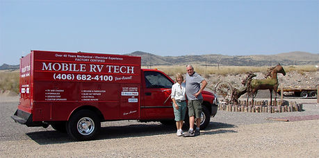 Bonnie & Don Moran - Mobile RV Tech, Ennis, Montana