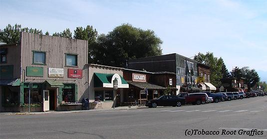 Main Street, Ennis, Montana