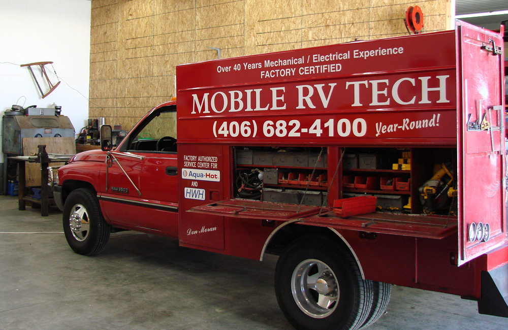 "Always ""Mobile"" RV Tech Repair"