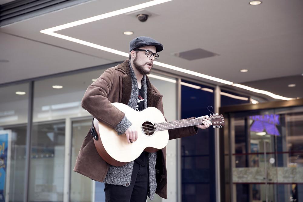 Steph Loake Photography Musician Busker Milton Keynes