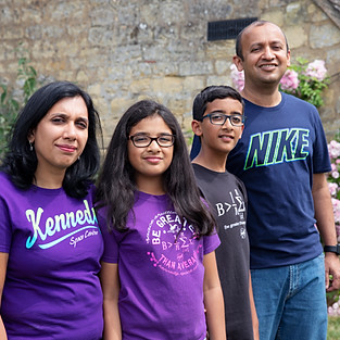 Gayathri & Family