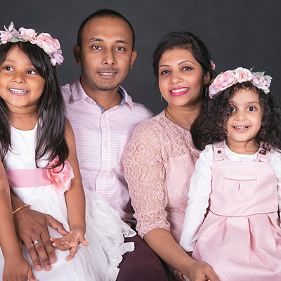 Family Photoshoot Farm