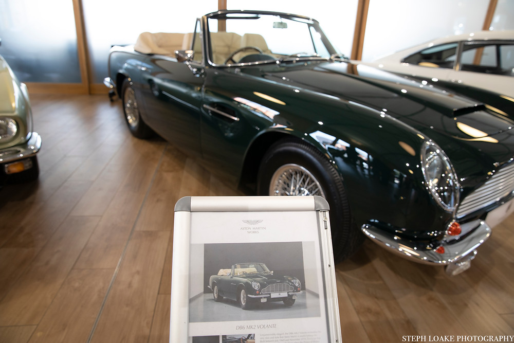 aston martin soft top convertible green car old