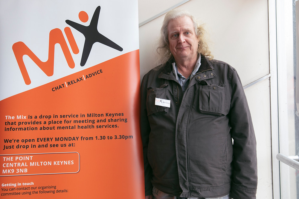 the mix milton keynes, mental health, social workers, volunteers, jeremy hopkins