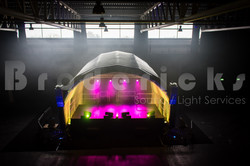 Outdoor covered Stage