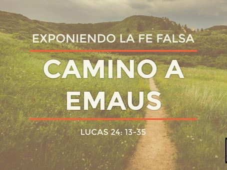 CAMINO A EMAUS / EXPONIENDO LA FE FALSA