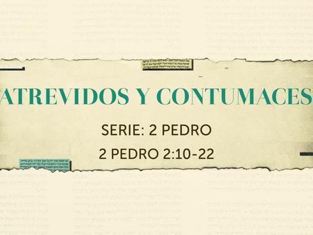 ATREVIDOS Y CONTUMACES